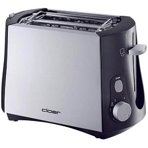 Cloer 3410 Toaster silber