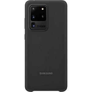 SAMSUNG Silicone Cover Handy-Cover f uuml r SAMSUNG Galaxy S20 Ultra schwarz