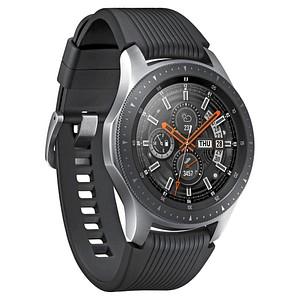 SAMSUNG Galaxy Watch 46 mm Bluetooth Smartwatch schwarz, silber SM-R800NZSADBT