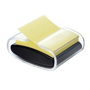 Post-it® Super Sticky Z-Notes Haftnotizen-Set extrastark gelb mit Spender
