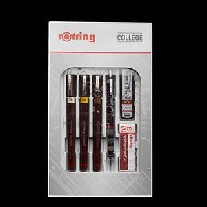 rotring Tuschefüller-Set schwarz 0,25, 0,35, 0,5 mm