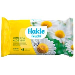 Hakle Feuchtes Toilettenpapier KAMILLE & ALOE VERA 1-lagig