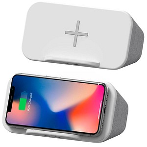 XLAYER Wireless Charging Speaker Powerbank 4.000 mAh 217338