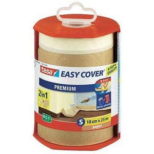 tesa Easy Cover® Premium Abdeckpapier mit Abroller braun 18,0 cm x 25,0 m 1 St. 56767-00000-02