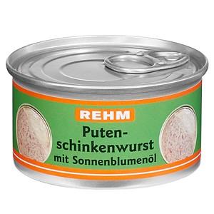 REHM Puten-Schinkenwurst Dosenwurst 125,0 g