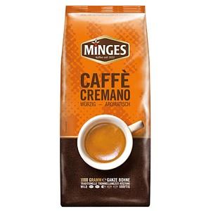 MINGES Caffe Cremano Kaffeebohnen 1,0 kg