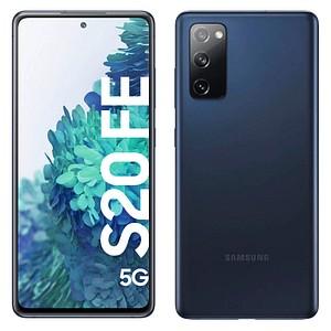 SAMSUNG Galaxy S20 FE 5G Dual-SIM-Smartphone cloud navy 128 GB