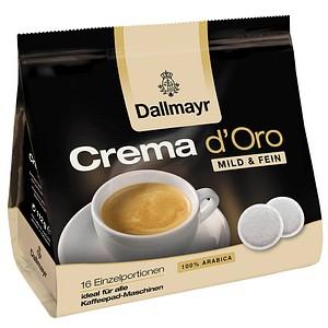 Kaffeepads Crema d'Oro von Dallmayr Kaffee