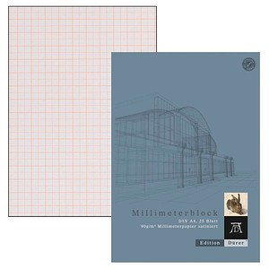 Edition Dürer Millimeterblock DIN A4 Millimeter