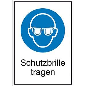 SafetyMarking® Gebotsschild - Schutzbrille tragen