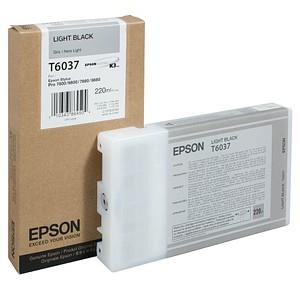 EPSON T6037 light schwarz Tintenpatrone
