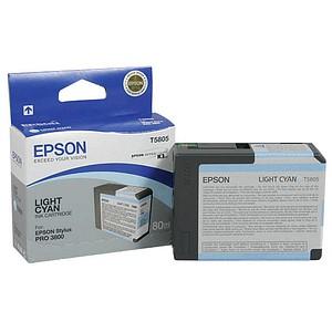 EPSON T5805 light cyan Tintenpatrone