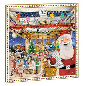 Ritter SPORT mini Adventskalender 347,0 g