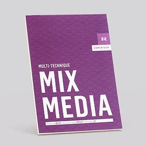 RÖMERTURM Zeichenblock MIX MEDIA A4 88808853