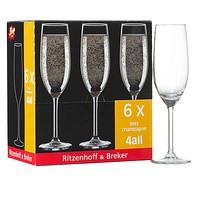 6 Ritzenhoff & Breker Sektgläser 0,2l