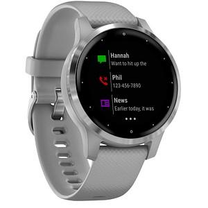 GARMIN vivoactive 4s Smartwatch grau 010-02172-02