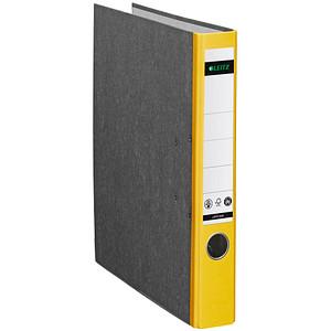 LEITZ 1050 Ordner gelb marmoriert Karton 5,2 cm DIN A4