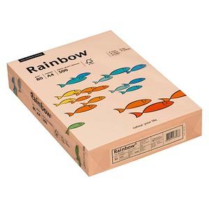Rainbow Kopierpapier COLOURED PAPER lachs DIN A4 80 g/qm 500 Blatt