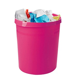 HAN Grip Papierkorb 18,0 l pink