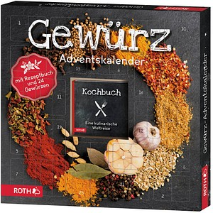 neutral Gewürz Adventskalender