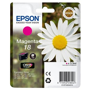 EPSON 18 T1803 magenta Tintenpatrone