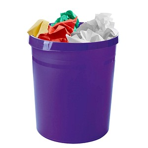 HAN Grip Papierkorb 18,0 l lila