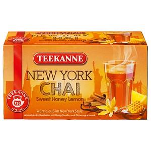 TEEKANNE NEW YORK CHAI Tee 20 Teebeutel à 1,75 g