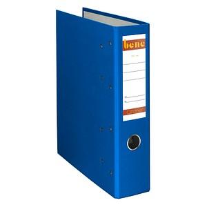 bene Doppelordner blau Karton 7,5 cm