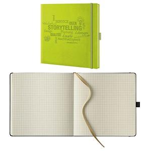 Lediberg Notizbuch Storytelling kariert