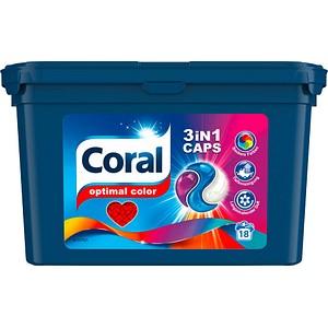 Coral 3IN1 CAPS Waschmittel 18 St.