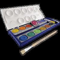Bastelfarben & -pinsel