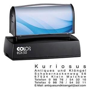 COLOP Textstempel, individualisierbar EOS 50 140791