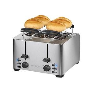 ProfiCook PC-TA 1073 Toaster silber