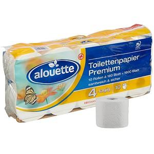 alouette Toilettenpapier Premium 4-lagig