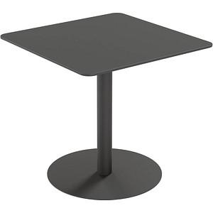 PAPERFLOW Gartentisch CROSS schwarz quadratisch