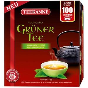 TEEKANNE Grüner Tee Tee 100 Tassenportionen à 1,5 g