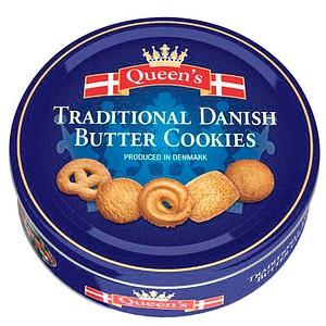 Queen's Dänische Butterkekse Kekse 500,0 g