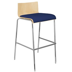 interstuhl CURVEis1 Barhocker blau