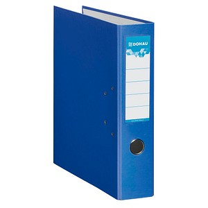 DONAU Klassik Ordner blau Karton 7,5 cm DIN A4