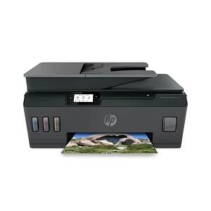 HP Smart Tank Plus 570 Wireless All-in-One 3 in 1 Tintenstrahl-Multifunktionsdrucker grau 5HX14A