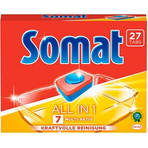 Somat ALL IN 1 7 MULTI-AKTIV Spülmaschinentabs 27 St.