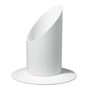 Rayher Kerzenständer Für Kommunion- und Taufkerzen mit 4,0 cm weiß 2514102