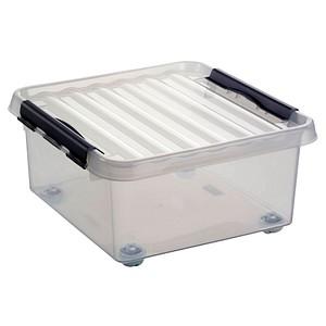 sunware Aufbewahrungsbox 18,0 l transparent 40,0 x 40,0 x 20,0 cm
