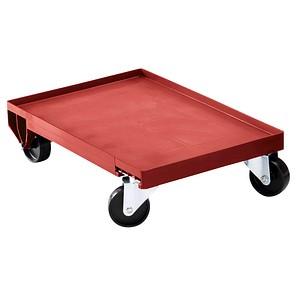 DURABLE Transportroller rot 40,0 x 60,0 cm bis 250,0 kg