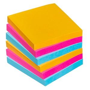 Post-it® Super Sticky Notes Bangkok Collection Haftnotizen extrastark 6546SE farbsortiert 6 Blöcke