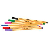 6 STABILO point 88 Fineliner farbsortiert 0,4 mm