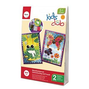 Rayher Mosaiksticker-Set Frosch und Schmetterling 7554300