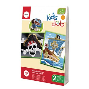 Rayher Mosaiksticker-Set Pirat 7554000