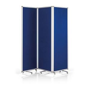 magnetoplan Stellwand blau 181,0 x 180,0 cm 1105303