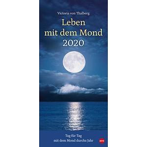 Heye Monats-Wandkalender Mondkalender 2020